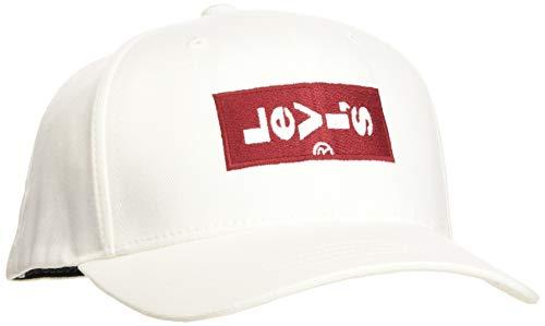 Imagen de levi's lazy tab flexfit , blanco regular white 51 , única talla del fabricante un para hombre