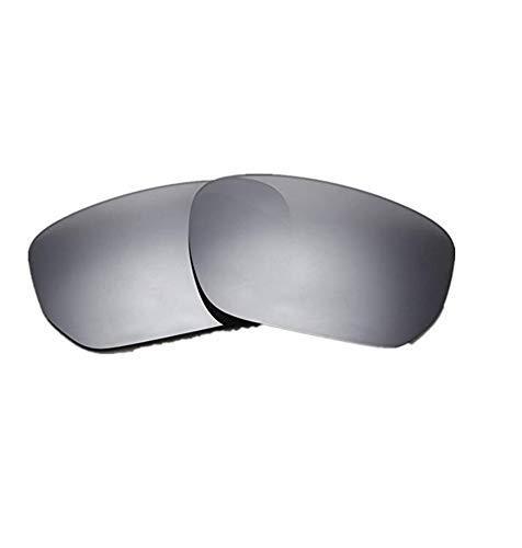 Polarisierte Ersatzgläser für Oakley OO9194 Style Switch (Silver)