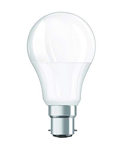 Osram LED SuperStar Classic A Lampe, in Kolbenform mit B22d-Sockel, dimmbar, Ersetzt 60 Watt, Matt, Warmweiß - 2700 Kelvin, 1er-Pack