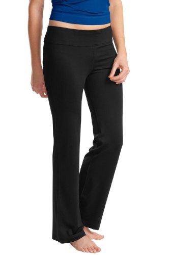 Sport-Tek femme Nrg et Pantalon de Yoga Fitness noir