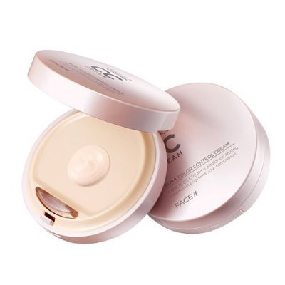 The Face Shop FACE it Aura CC Cream #1 Bright Beige (SPF30/PA++) [Misc.]