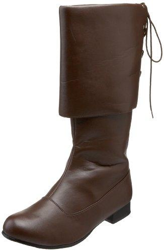 PleaserPirate-100 - Stivali uomo Marrone (Marrone (Brown))
