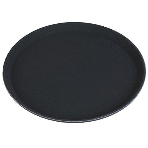 Carlisle TB1400004 True Basic Tablett, rutschfest, 35,56cm, schwarz - Carlisle Bar