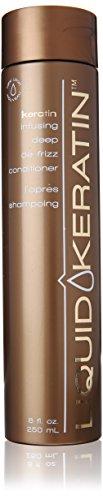 Liquid Keratin Kératine Infusion profonde Cheveux de frisottis Conditionneur