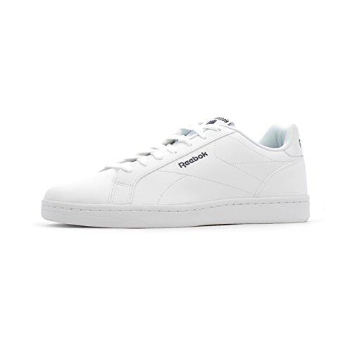 Reebok Royal Complete Cln, Chaussures de Fitness Homme Blanc (blanc / bleu marine collégial)