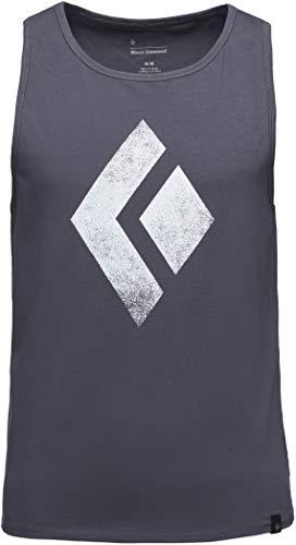 Black Diamond Chalked Up - Haut sans Manches Homme - Gris 2019 Tank Tshirt