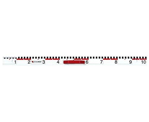 Betzold  307 Geoliner Measure Lineal mit cm und dm Graduierungen, mehrfarbig, 100 cm