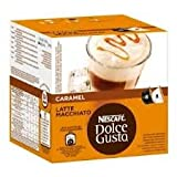 Nescafe Dolce Gusto Caramel Latte Macchiato x 4 packs (64 pods, 32 servings)