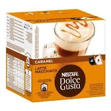 Nescafe Dolce Gusto Caramel Latte Macchiato x 4 packs (64 pods, 32 servings)