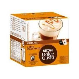 Nescafe Dolce Gusto Caramel Latte Macchiato x 4 packs (64 pods, 32 servings) 31QkWKHMKWL