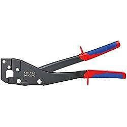 KNIPEX 90 42 340 Pince à sertir les profils brunie avec gaines bi-matière 340 mm