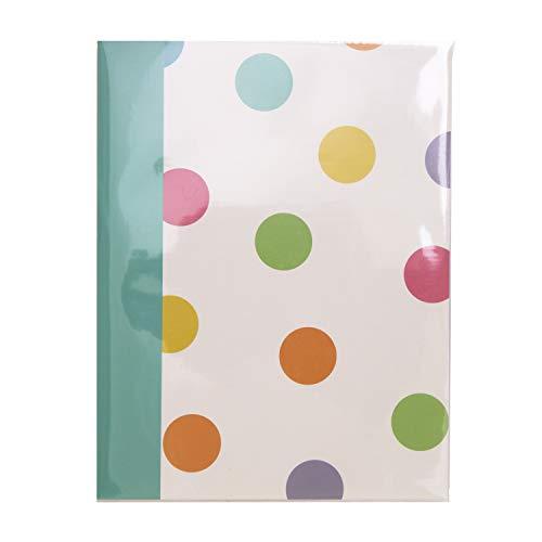 Kenro Candy Series Fotoalbum, bunt, Spots, 36 Photos 7x5 (5x7 Fotoalbum)
