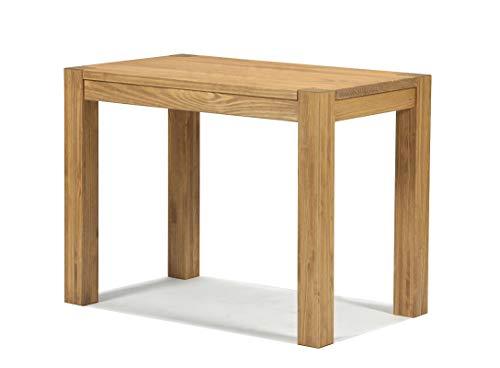 Naturholzmöbel Seidel Esstisch Küchentisch,Rio Bonito, 90x50cm Pinie Massivholz, geölt und gewachst, Tisch Farbton: Honig hell
