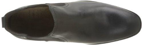 Base London Saffron, Boots homme Noir (Waxy Black)