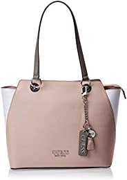 Guess Womens Tote Bag, Mauve Multi - VM767223