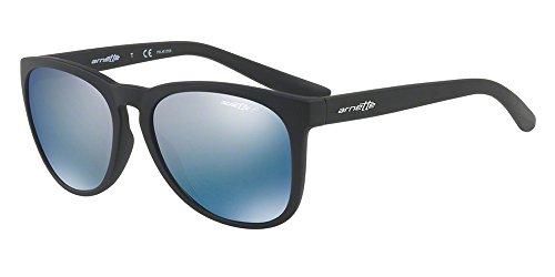Arnette 0an4227 01/22, occhiali da sole unisex-adulto, nero (matte black/polardarkgreymirrorwater), 57