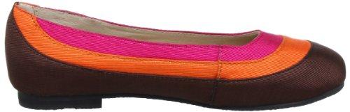 Lise Lindvig 131 216 45, Ballerines femme Multicolore (Brown/Orange/Pink 45)