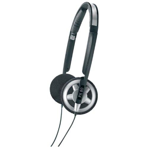 Sennheiser PX 80 Over-Ear Headphone (Black/Silver)