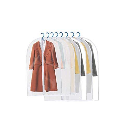 veklblan 8Pcs Kleidersack Freie Kleidung Staubschutzabdeckung Home Storage schützen Sie Abdeckung Reisetasche