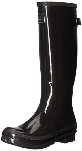 Joules Fieldwelly gloss Botas de agua Mujer, negro (black black), 37 EU (4 UK)