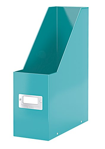 Leitz 60470051 click&store cassettiere, colore blu (turchese), portariviste a4