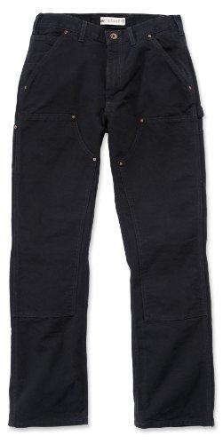 Carhartt EB136 Double Front Work Jeans schwarz schlanke B01 Herrenhose 34/32