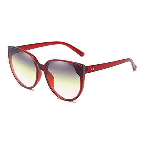 Noradtjcca Kinder Bunte Cat Eye Form Frame Design polarisierte Sonnenbrille Silica Gel Schutzbrille Brille