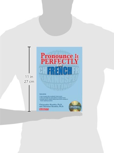 Pronounce it Perfectly in French (Pronounce It Perfectly CD)