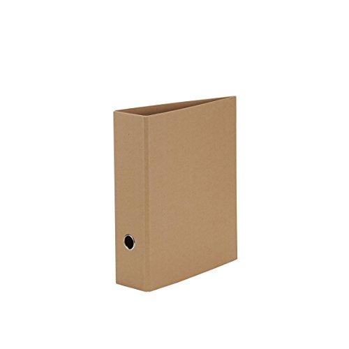 Rössler Papier 1317452620 - S.O.H.O. Ordner für DIN A4, Rückenbreite 85 mm, Kraft