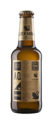 12 Flaschen Aqua Monaco Extra Dry Tonic Water München a 230ml braun inc. 1.80€ MEHRWEG Pfand -