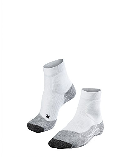 FALKE Herren TE2 Short M SO Tennissocken, Weiß (White-Mix 2020), - Damen Tennissocken Falke