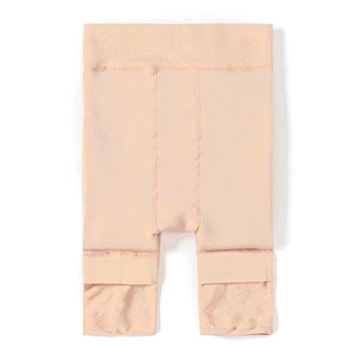 Vertvie Damen Thermo Strumpfhose Leggings mit Innenfleece für Herbst Winter Super Strech (XXL, Hautfarbe)