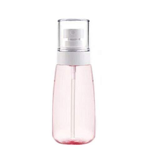 100ml Sprühflasche feiner Nebel Spray-Flasche Makeup Sprühflasche Nachfüllbare Reisen Flasche für kosmetische Hautpflege Lotion Parfüm (Pink)