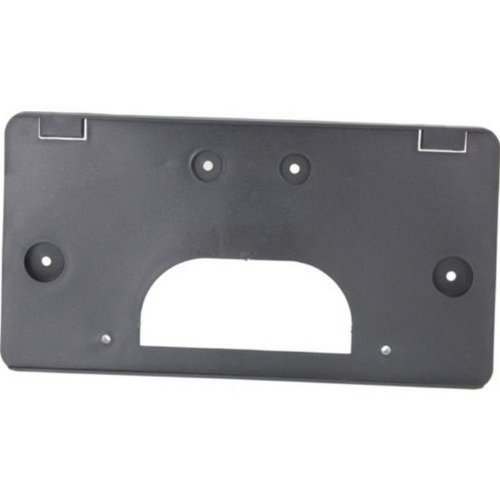 gmc-sierra-pickup-03-07-front-license-plate-bracket-black-old-body-style-by-us-auto-parts