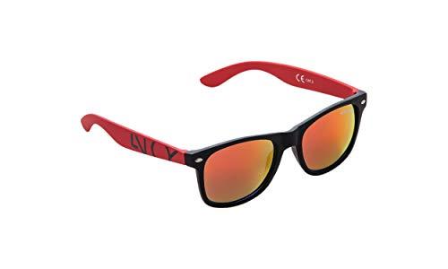 NOBLEND Sonnenbrillen - Qualität aus Österreich zum top Preis. Passgenau hoher Tragekomfort und hoher UV Schutz! - Rot/Orange