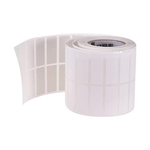 Aibecy 25 * 10 mm 1 rollo papel térmico autoadhesivo
