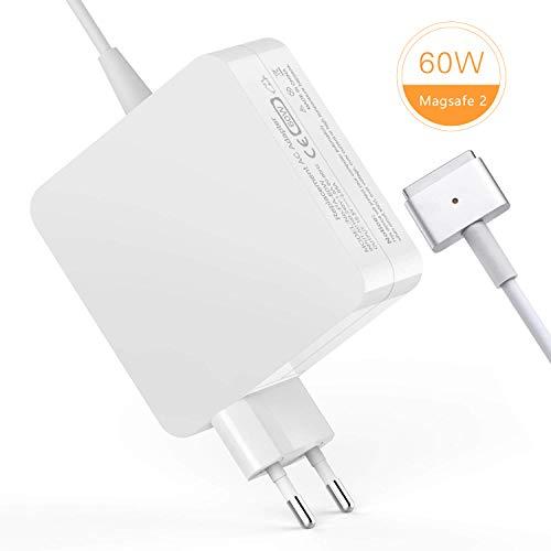 TechDot Macbook Pro Ladekabel 60W MagSafe 2 T Form Macbook Pro Ladegerät Power Adapter Netzteil kompatibel mit Apple 13