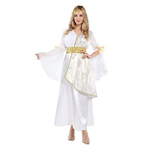 Kostüm Athena Kopfbedeckung - BESTSOON-TGA Cosplay-Kostüm für Erwachsene, Athena Königin, Königin, Arabische Prinzessin Kostüm