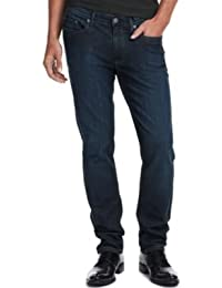 KENNETH COLE REACTION JEAN, DARK WASH SLIM JEAN INDIGO 38X30