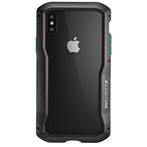 Element Case EMT-322-193EY-01 Vapor-S Schutzhülle für iPhone XS/X, Schwarz Vapor Element Iphone