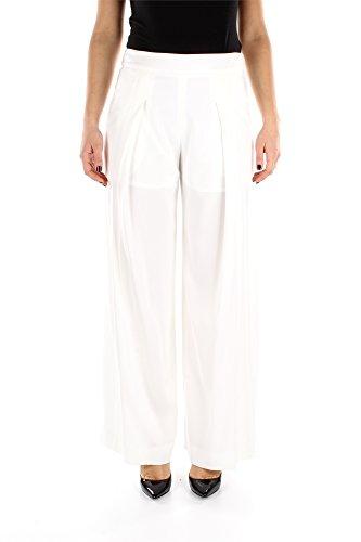 1655HA1PA121K01 Kenzo Hosen Damen Viskose Weiß Weiß
