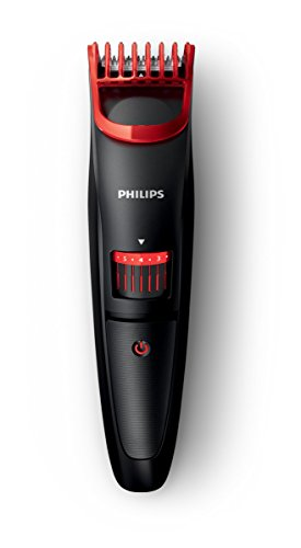 Philips 1000 BT405/16 - Barbero, incrementos de 0,5 mm, 20 longitudes, color negro