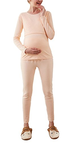 Femme Femmes enceintes Coton Doublure molleton Fièvre Épaisse Et doux Hiver Noir Gris
