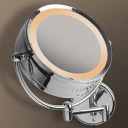 design bad spiegel kosmetikspiegel im chrom look f rs. Black Bedroom Furniture Sets. Home Design Ideas