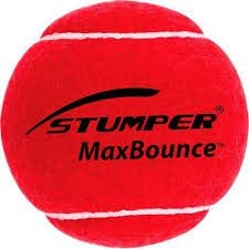 Stumper Max Bounce Cricket Tennis Ball Heavy Weight - Yellow (Pack of 3)
