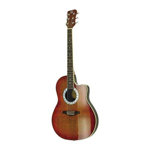 Oqan  - Guitarra electro-acústica  qga-71rb cs