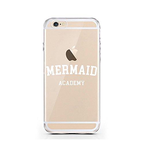 iPhone 6 6S Hülle von licaso® für das Apple iPhone 6 aus TPU Silikon Happy Dots Punkte Polka Dot Glücklich Muster ultra-dünn schützt Dein iPhone 6S & ist stylisch Schutzhülle Bumper in einem (iPhone 6 Mermaid Academy