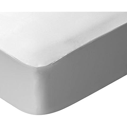 Pikolin Home Hiper-Transpirable - Protector de colchón lyocell, híper-transpirable e impermeable, 80 x 190/200 cm, cama 80