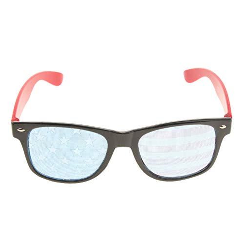 Fenteer Herren Damen Kinder Party Brille Nerd Sonnenbrille -