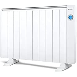 Orbegozo RRE 1810 – Emisor térmico bajo consumo, 1800 W de potencia, 10 elementos, pantalla digital LCD, mando a distancia y funcionamiento programable